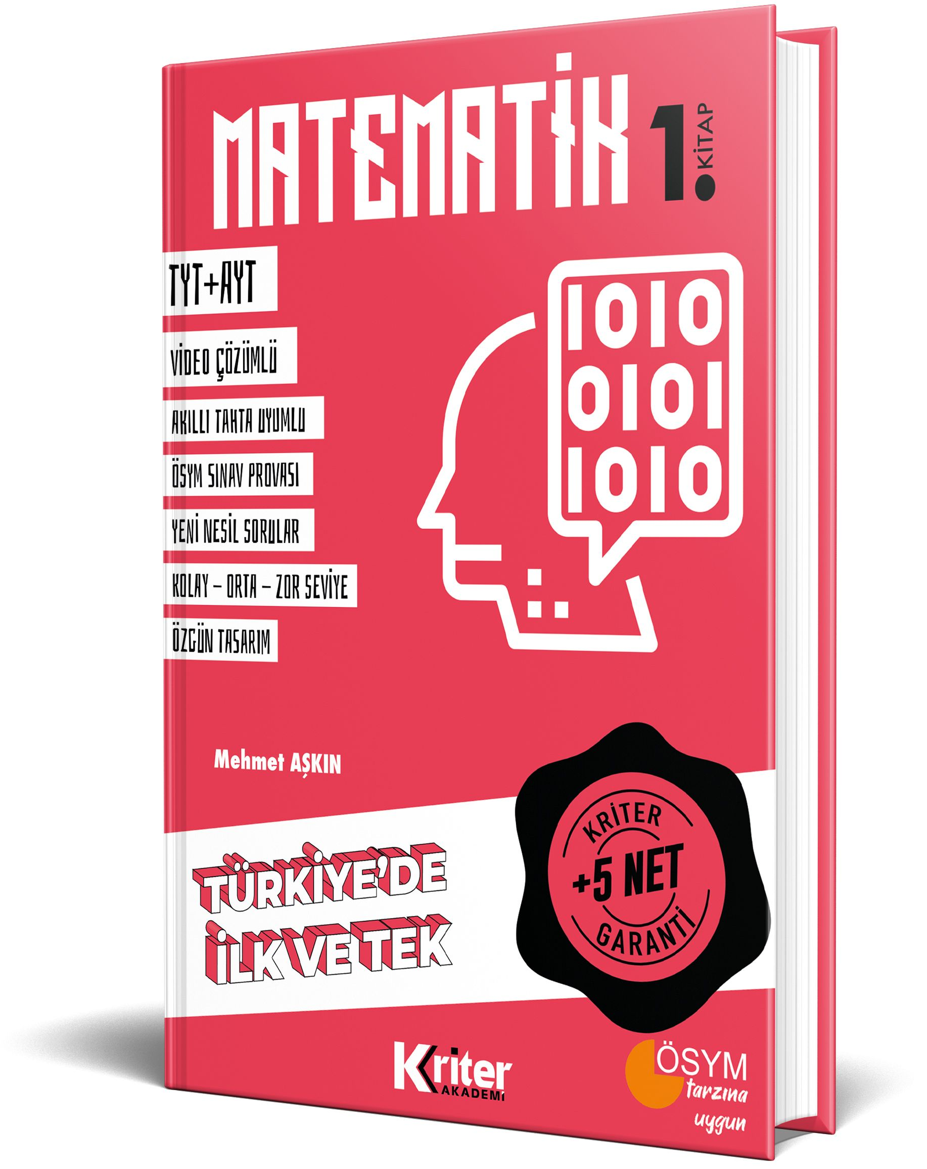 Kriter Akademi 5 Net Garantili <span>Matematik 1</span>