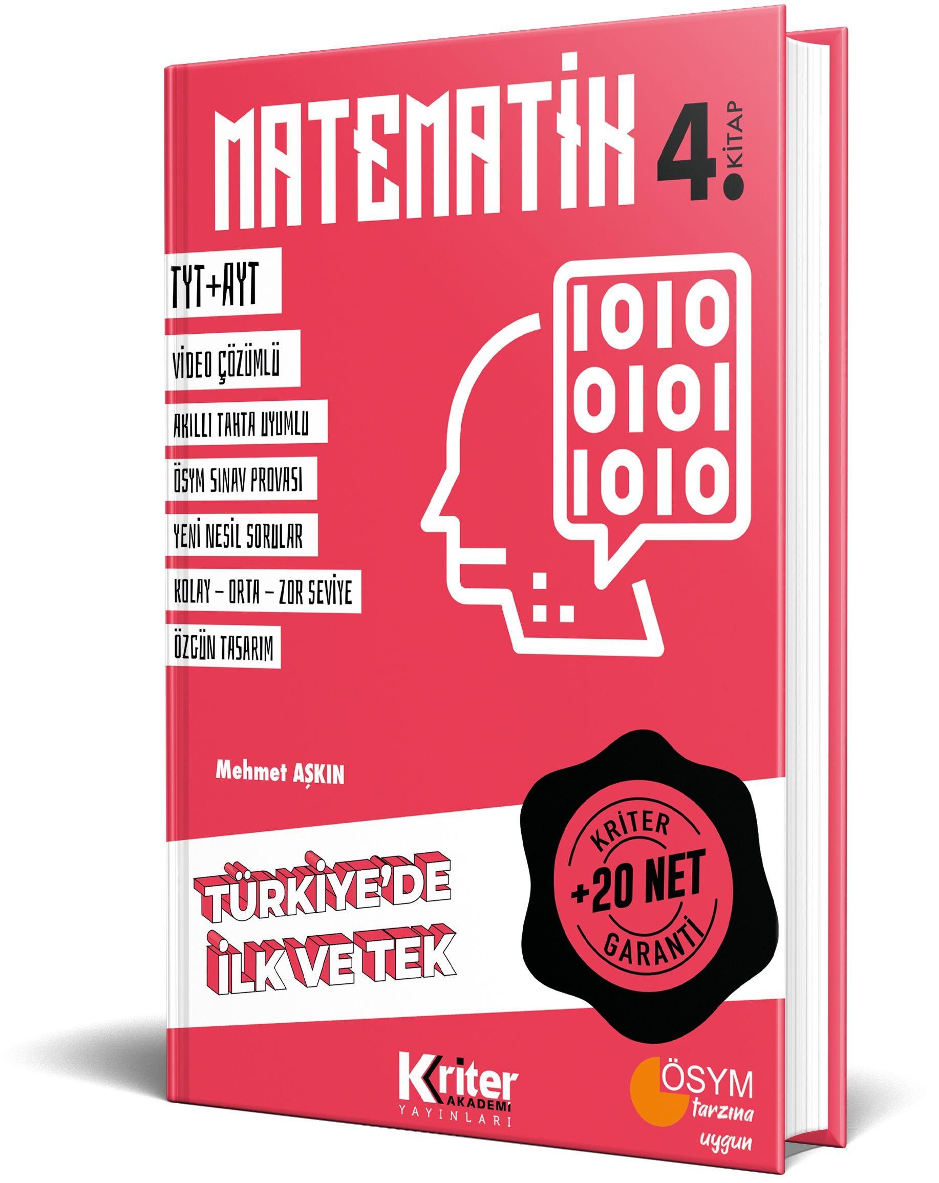 Kriter Akademi 20 Net Garantili <span>Matematik 4</span>